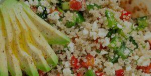 Quinoa a la griega