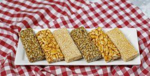 Barritas de cereal caseras
